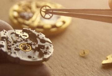 Entretien montres mécaniques