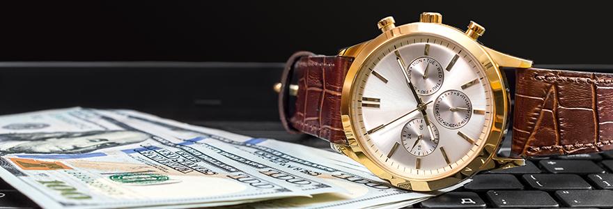 achat montre de luxe en ligne
