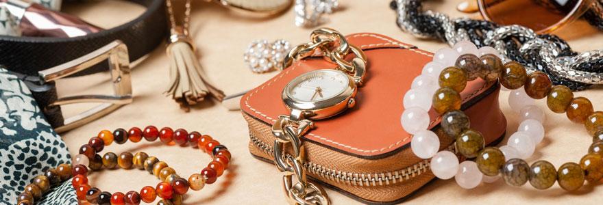 Vente de bijoux et d'accessoires d'occasion de luxe